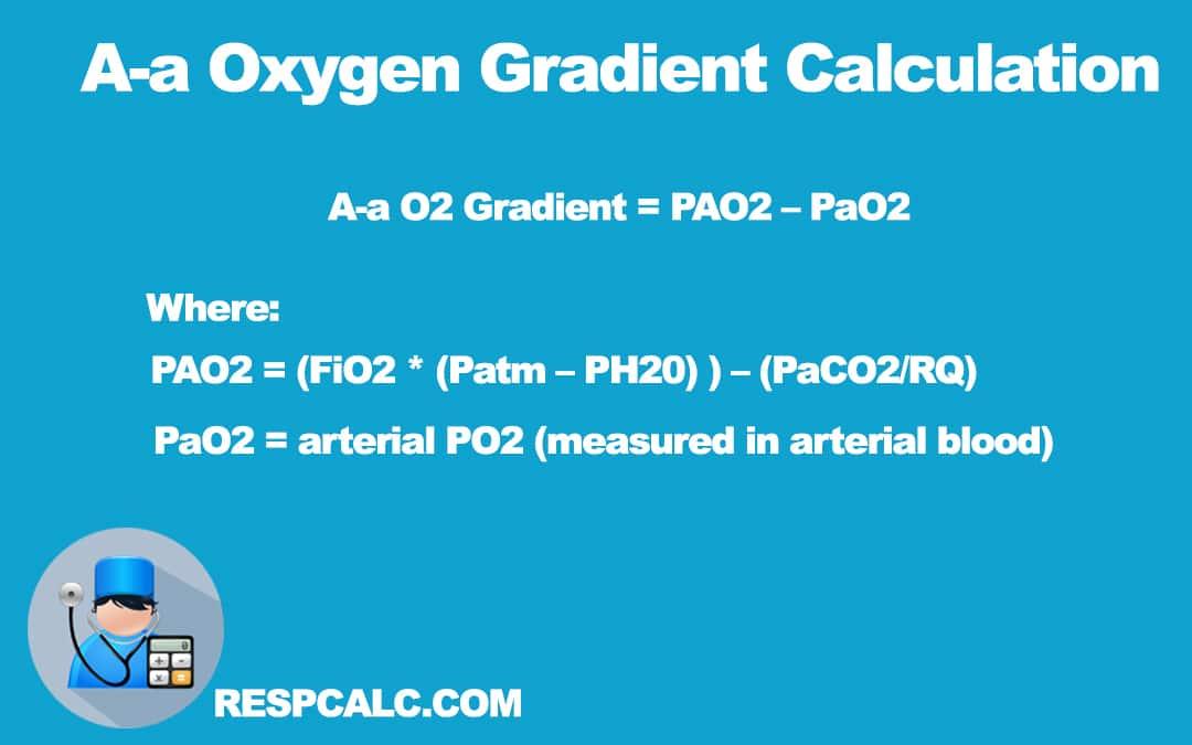 Alveolar-Arterial Oxygen Gradient (A-a Gradient)