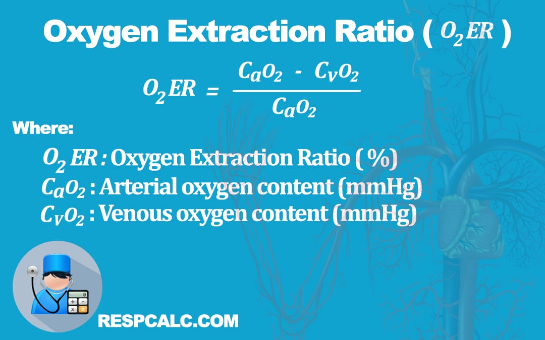Oxygen Extraction Ratio (O2ER)