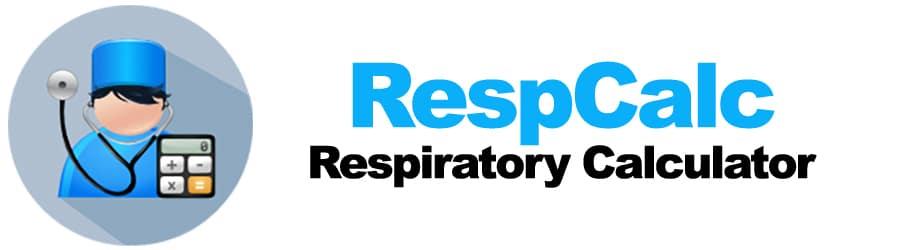 RespCalc - Respiratory Calculator
